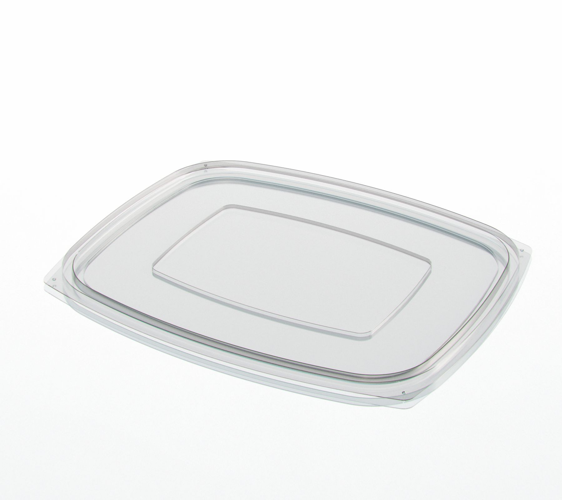 Flat Lid for Deli Containers 900cc to 1,500cc - 30 oz  to 48 oz