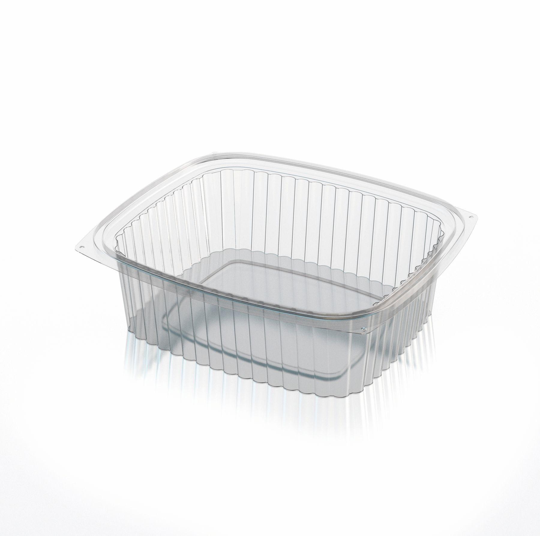 C1000 - Deli Container 1,000cc (32 oz.) Clear - Case of 600