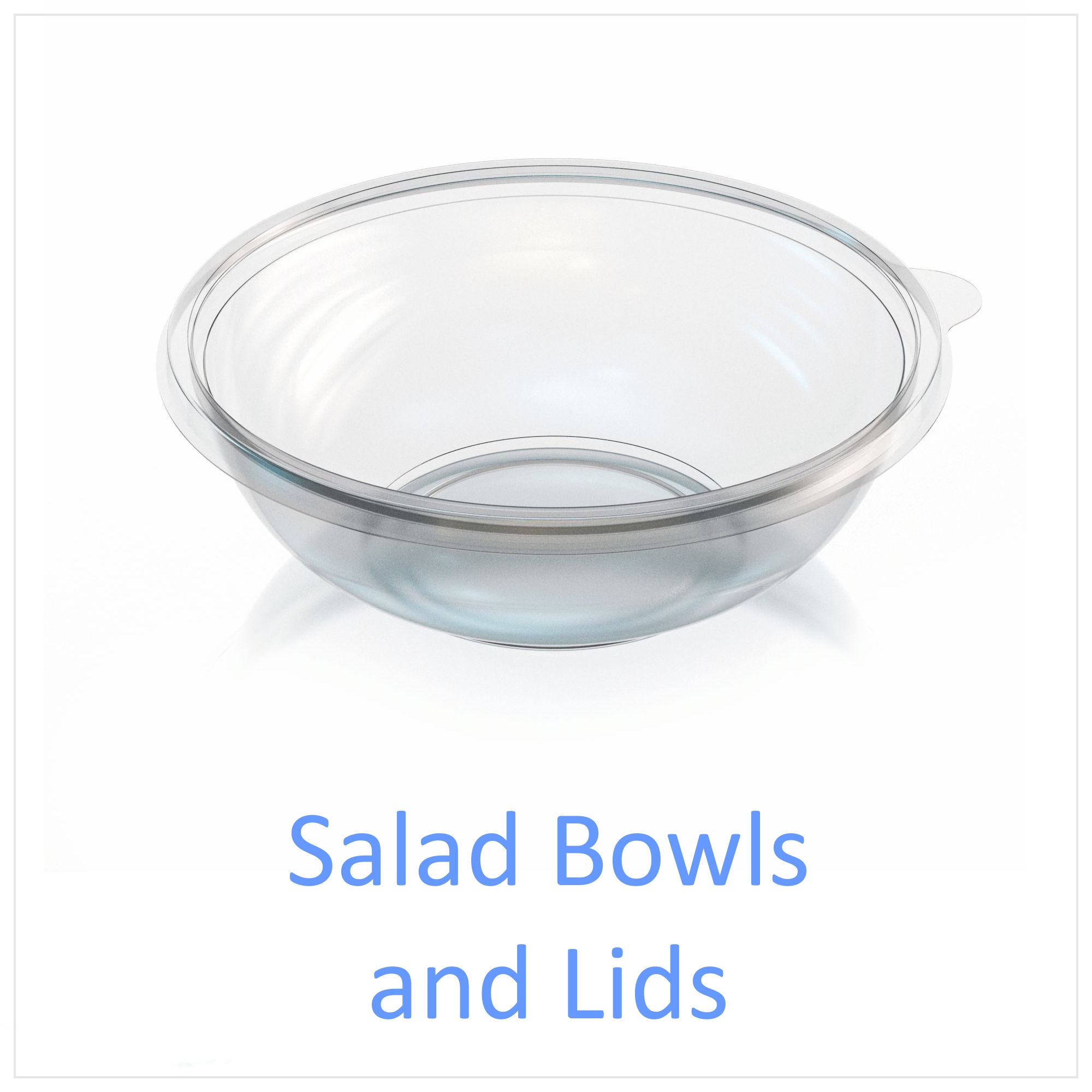 Salad Bowls and Lids