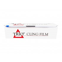 PW930700WCB-TR - Trio Catering Cling Film 30cm x 700g with Cutter Box - Case of 6
